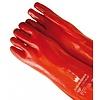 Handschoen Spuit PVC rood 40cm