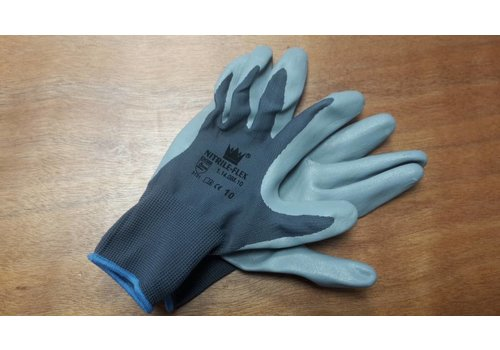 Handschoen Nitrile-flex mt 10