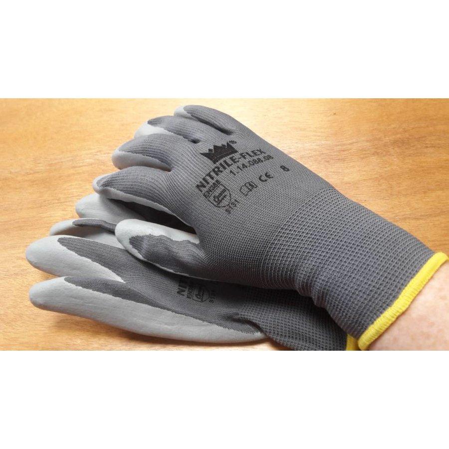 Handschoen Nitrile-flex mt 8-2