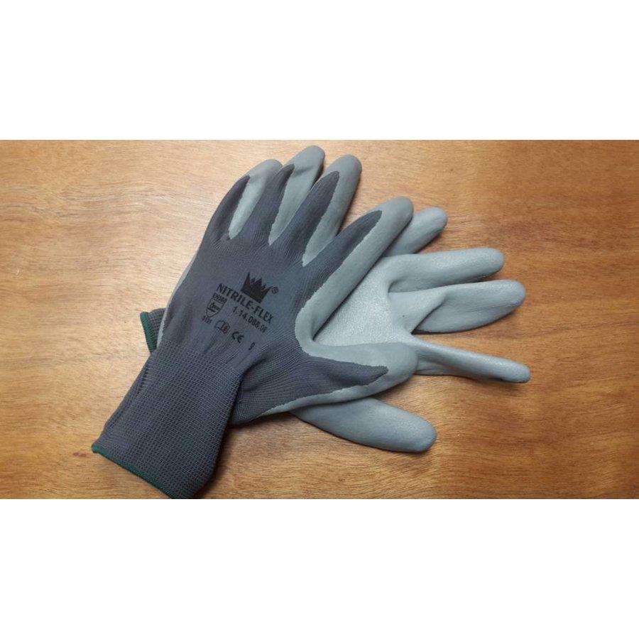 Handschoen Nitrile-flex mt 8-3