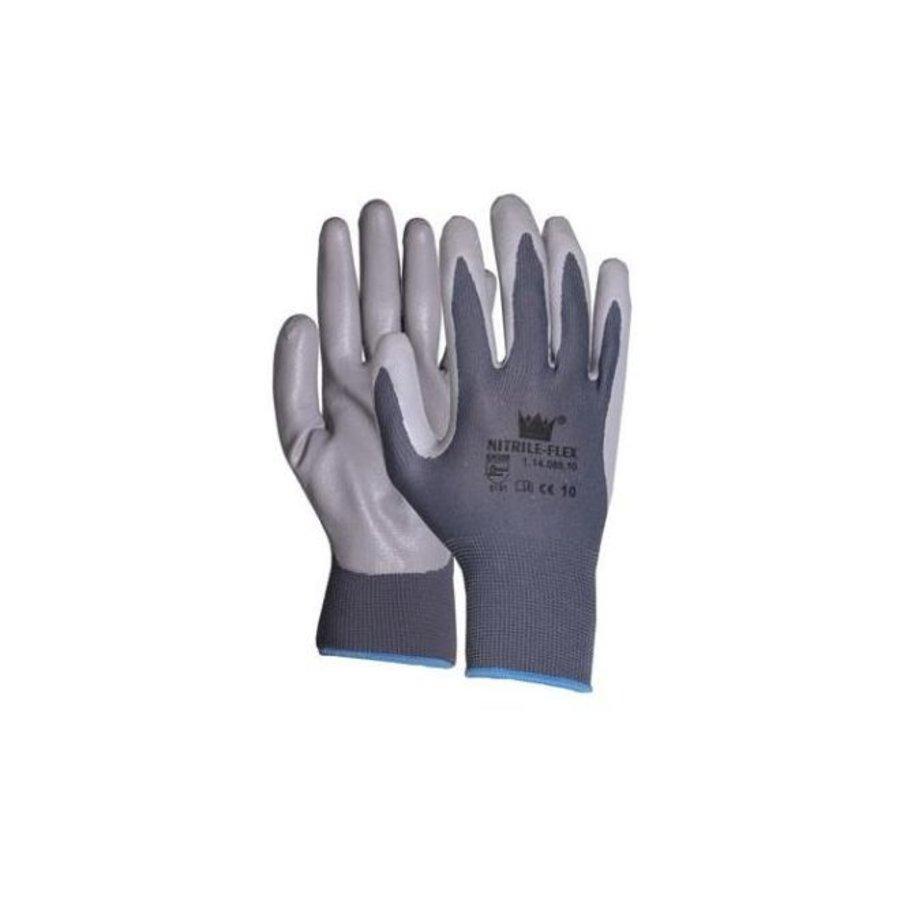 Handschoen Nitrile-flex mt 8-4