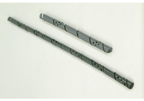 Boomstambeschermers 60 cm grijs