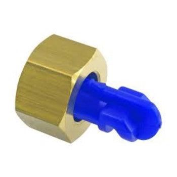 Birchmeier Ond. 10501803-SB Spuitdop Floodjet ketsdop blauw 1,6