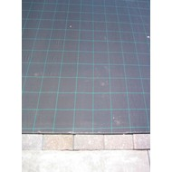 Anti worteldoek 0.50m breed 120gr/m2