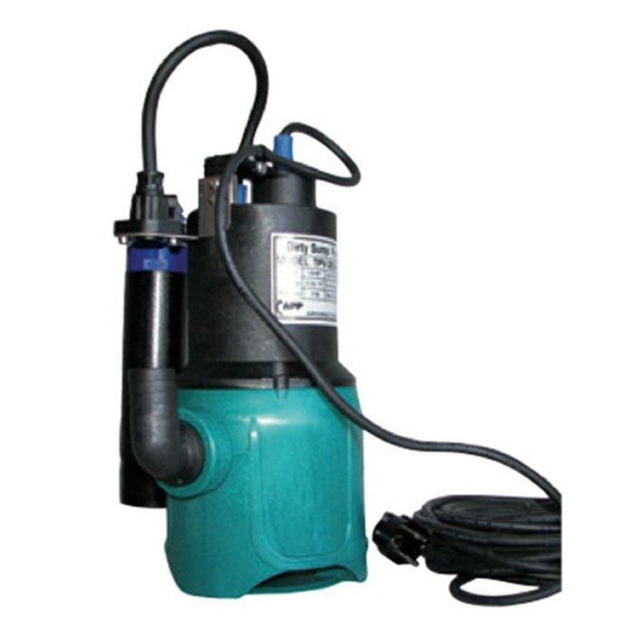 APP Dompelpomp Type TPS 200 - 0,19kW - 8,4m3/h - 230V-1