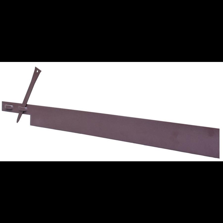 Kantopsluiting bruin gepoedercoat-1