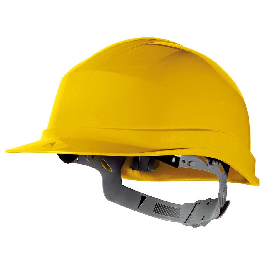 Veiligheidshelm Zicron geel-1