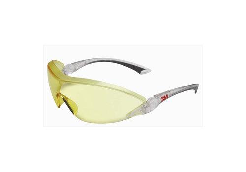 Veiligheidsbril 3M 2842 geel