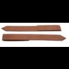 Kantopsluiting eindverbinding clip cortenstaal