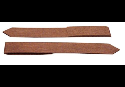 Cortenstaal eindverbinding clip