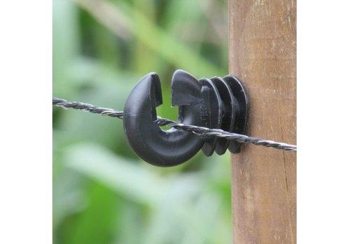 Schrikdraad 2mm zwart 30 PE, 500m
