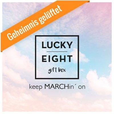 GESCHENKBOX März 2017 - KEEP MARCHING ON