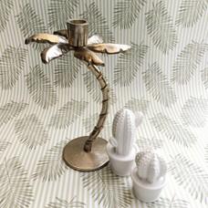 Kerzenständer PALME bronze