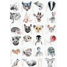 Tier ABC Plakat