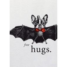 Butt Papierkram POSTKARTE free hugs