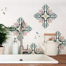 Nuukk FLIESENAUFKLEBER Mosaik-Blume