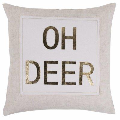Pad Concept KISSENHÜLLE Oh deer gold 45x45 cm