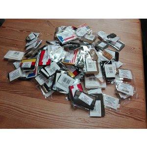 115x verschiedene 3D Rubber Patches Klettabzeichen zum Super Preis! Restposten! Lagerauflösung