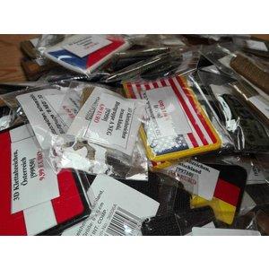 112x verschiedene 3D Rubber Patches Klettabzeichen zum Super Preis! Restposten! Lagerauflösung
