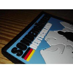 """3D Rubber Patch """"Sondengänger - Deutschland"""""""