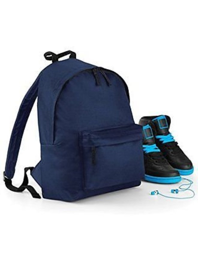 Junior backpack with Monogram printing and name