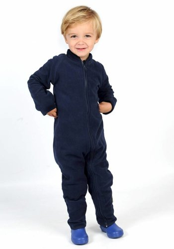 CeLaVi Fleece bodysuit , navy blue jumpsuit