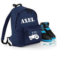 thumb-Backpack tractor  with name print-3