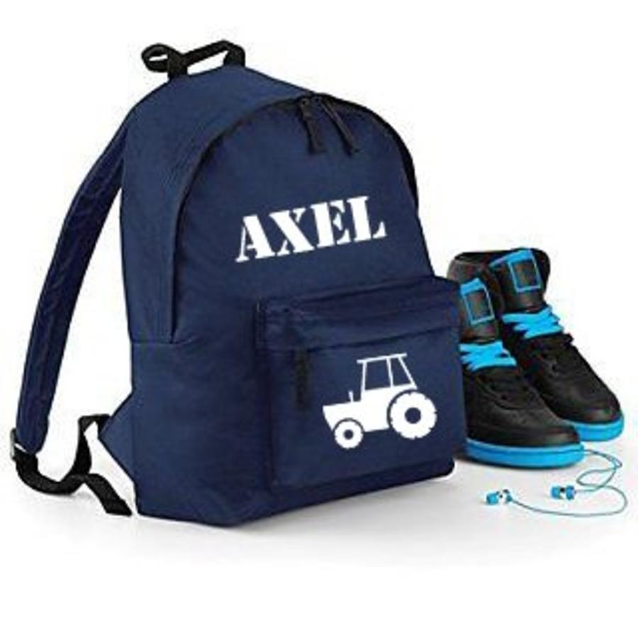 Backpack tractor  with name print-3