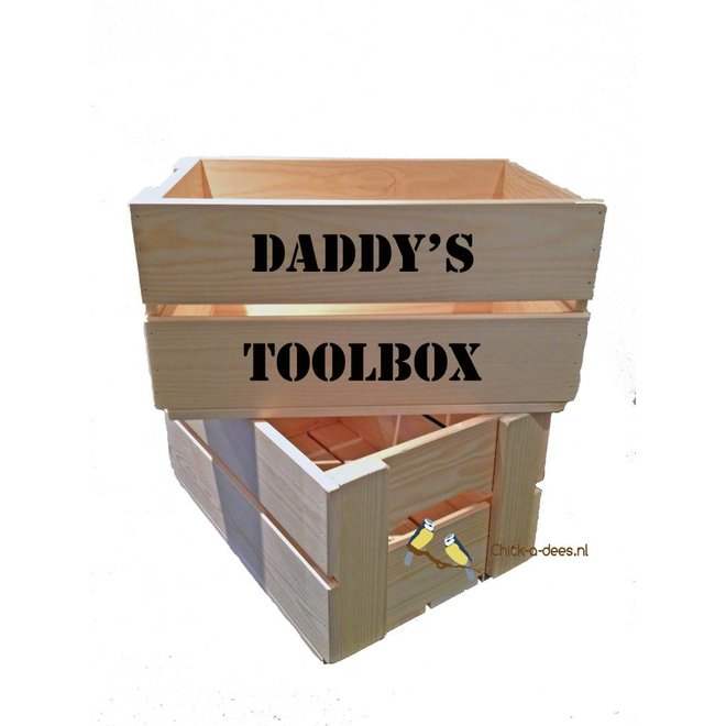 Toolbox father's day with your own text