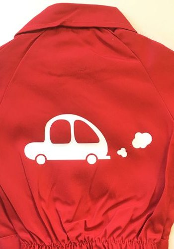 Customise your overall with the picture of a car