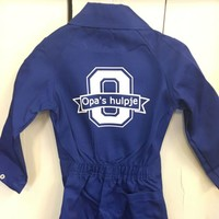 thumb-Coverall with monogram and name-8