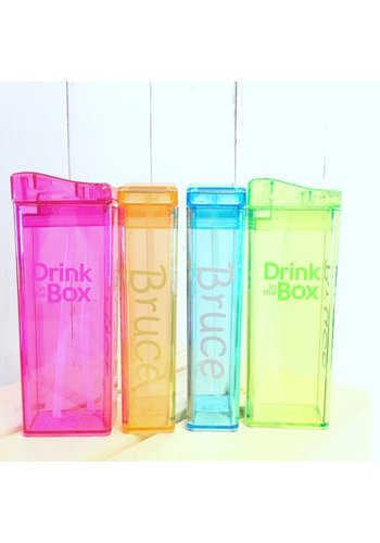 Precidio Naamstickers (2 x) voor Drink in The Box en Snack in the Box