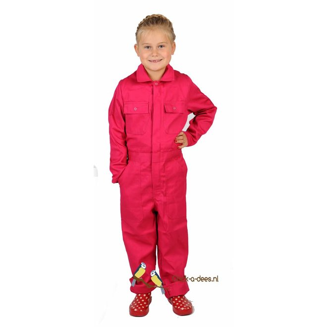 Coverall printed with cow sketch