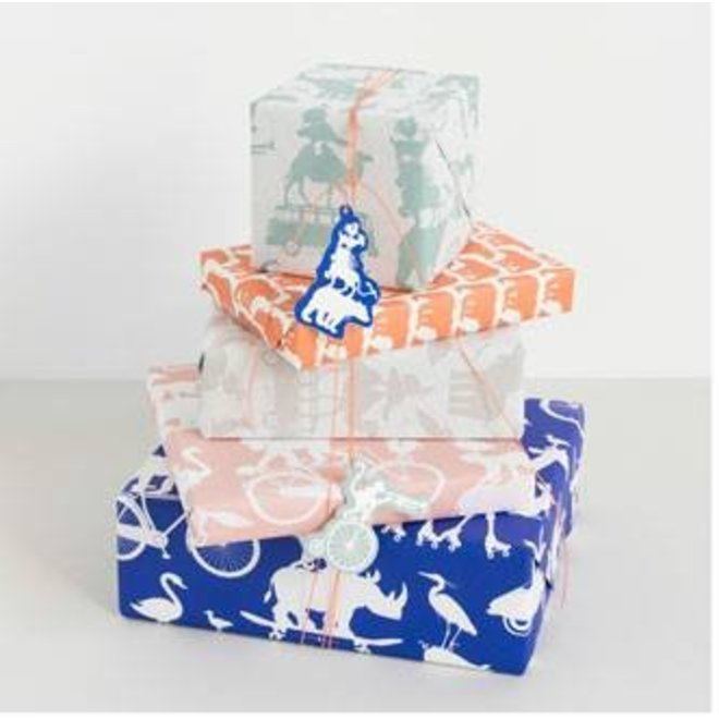 Gift wrapping - animals