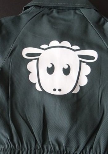 Junior coverall with sheep on the back
