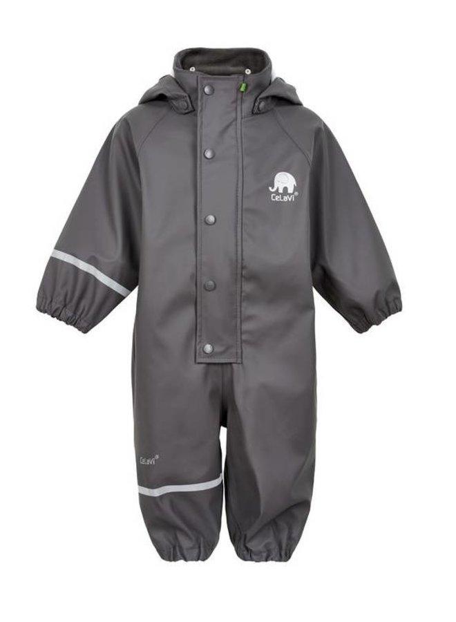 Children's rain overall - mouse grey | 80-110