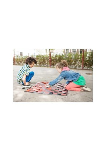 Checkers game set XL