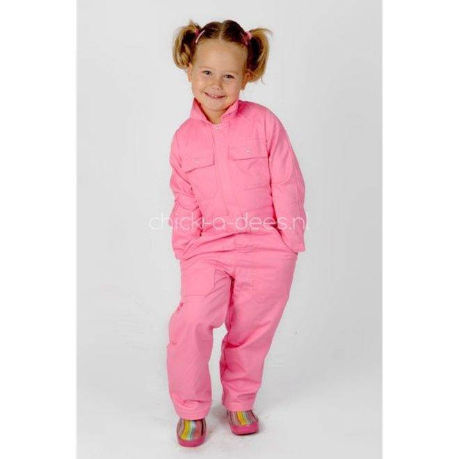 Children's overall pink