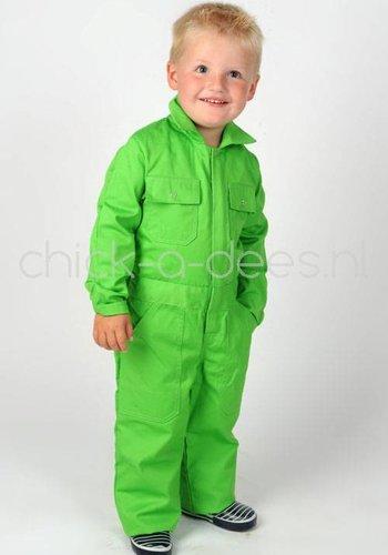 Kinderoverall limegreen