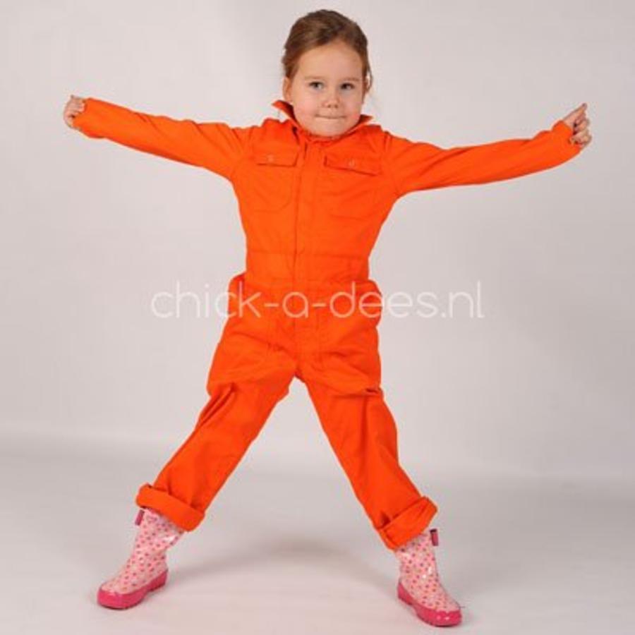 Kinderoverall oranje-4