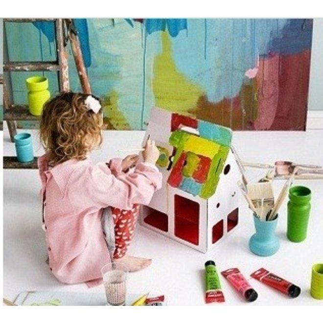 Dollhouse Mobile Home, white, Kidsonroof