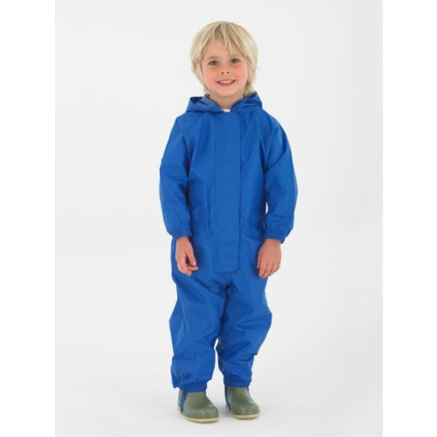 Waterproof coveralls, rain boiler suit - blue-2