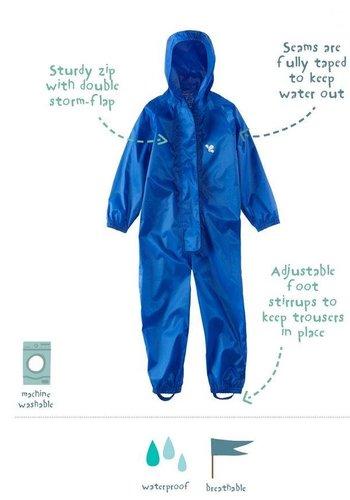 MP buitenkleding Waterproof overalls, waterproof boiler suit - blue