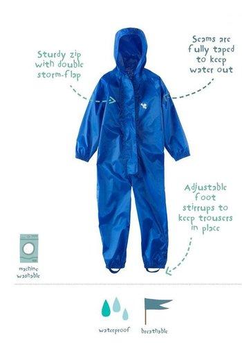 MP buitenkleding Waterproof overall, regenoverall - blauw