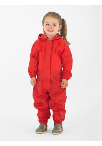 MP buitenkleding Waterproof overall, rain overall - red KDV & BSO