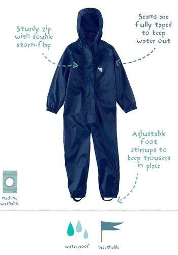 MP buitenkleding Waterproof overalls, waterproof boiler suit - navy blue