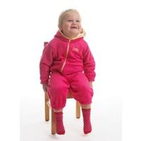 thumb-High-pile fleece suit Hugs, roze-2
