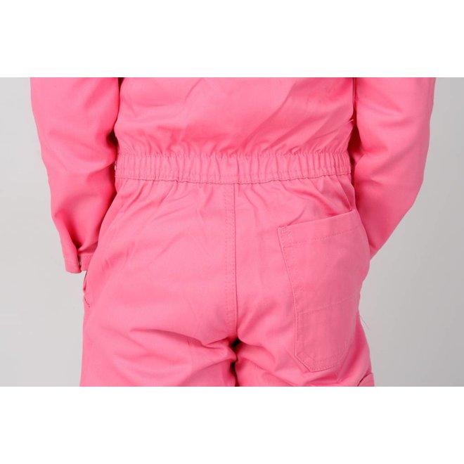 Roze kinderoverall