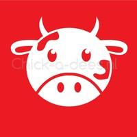 thumb-Bedrukking koe voor overall-3