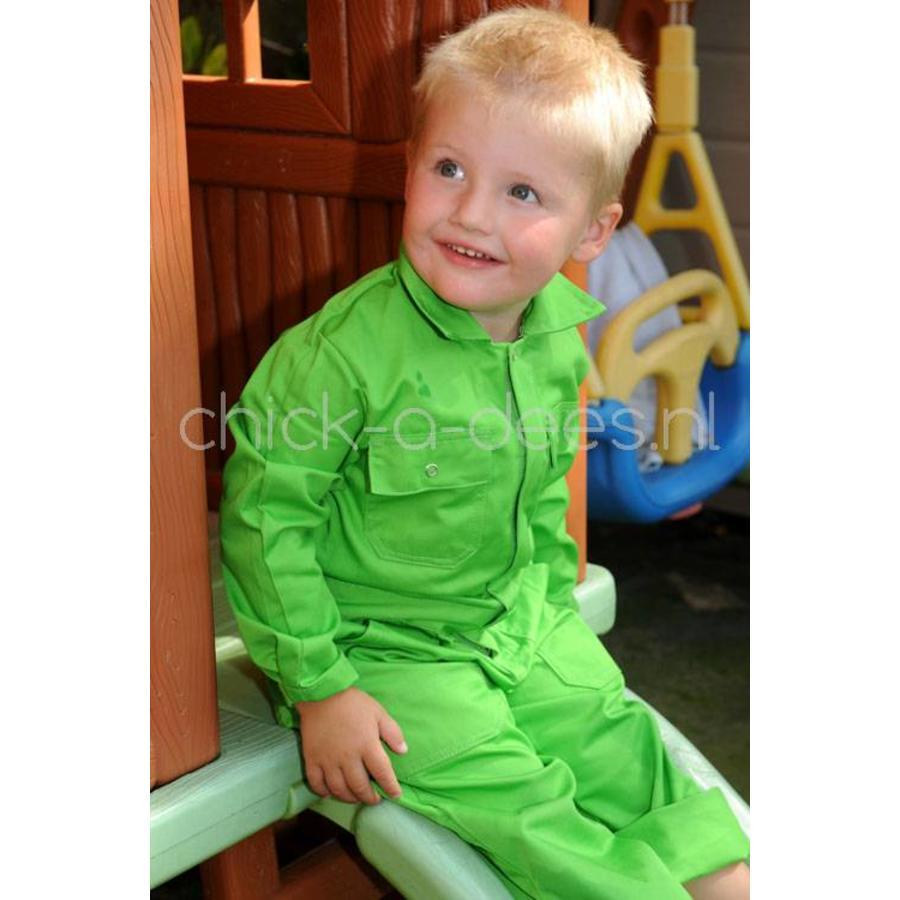 Kinderoverall limegroen-5